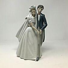 Nao By Lladro Spanish Porcelain Figurine #1247 Unforgettable Dance Bride & Groom
