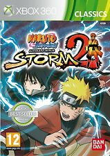 Naruto Shippuden: Ultimate Ninja Storm 2 Xbox 360 PAL Brand New SEALED