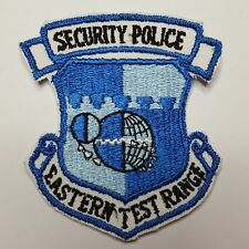 U.S. AIR FORCE SECURITY POLICE EASTERN TEST RANGE AUFNÄHER PATCH