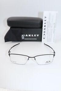 Oakley Eyeglasses OX 5113 0156 Lizard Satin black NIB Titanium 56 18 135
