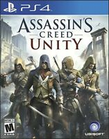 PLAYSTATION 4 PS4 GAME ASSASSIN'S CREED UNITY LIMITED EDITION NEW AND SEALED