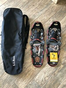 "Atlas 825 8"" x 25"" Snowshoes - New with Defects Including Bag"