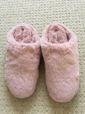 Nuevo Fit flop Rosa Furry mula Resbalón en Zapatillas Size UK 8 EU 42