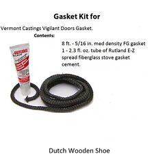Vermont Castings Gasket Kit for Vigilant Doors + Cement