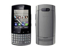 Nokia Asha 303 Graphite (Unlocked)with Touchscreen & QWERTY Keypad