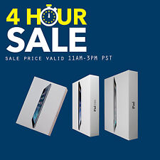 Apple iPad Air 1,2 mini 2,3,4 128GB,64GB,32GB,16GB WiFi+4G Cellular Latest Model