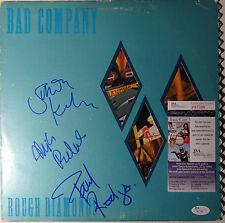 SIGNED BAD COMPANY PAUL RODGERS KIRKE  & RALPHS AUTOGRAPHED LP W/PIC JSA P87391