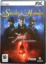 Gioco Pc Sherlock Holmes contro Jack lo squartatore - FX Interactive 2009 Usato