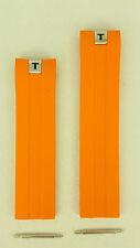 Tissot Tony Parker PRS 330 Watchband Orange Rubber Strap T076417A / TP12 - TP 12