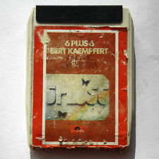 8-Track Tape Cartridge BERT KAEMPFERT – 6 PLUS 6 – stereo Easy Listening 1972