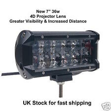 36W LED SPOT BEAM LIGHT BAR 4WD OFF-ROAD DRIVING LAMP JEEP SUV TRUCK WORK LIGHT