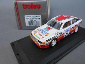 1:43 diecast Trofeu Toyota Celica Securicor 1990 Lombard RAC Rally LlewellIN