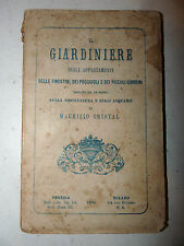RARO GIARDINAGGIO - Cristal: Il Giardiniere degli appartamenti 1870 acquari 1a