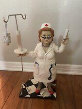 Retro Nancy Nurse Toilet Paper Holder