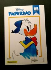 CARTOLINA filatelica PAPERINO DISNEY 85 YEARS.2019 - RARA