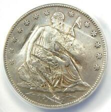 1855-S Arrows Seated Liberty Half Dollar 50C Coin - ANACS XF40 Details (Damage)