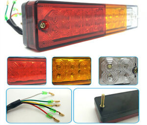12V Stop Rear Tail Reverse 20LED Light Indicator Lamp Car Ute Truck Trailer SUV