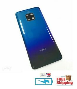 Huawei mate 20 Pro TWILIGHT Rear Glass Back Battery Cover Replacement part LENS