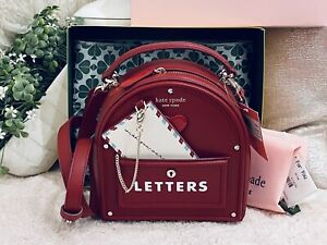 NWT Kate Spade 3D Mailbox, Yours Truly, Love Letters bag. Stunning RARE Novelty