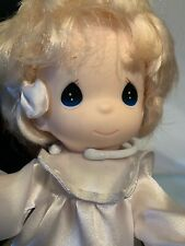 Precious Moments On Doll Stand Vintage 1997 With Tags