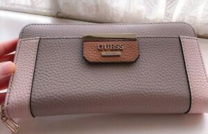 Guess Damen Ladies Maxi zweifarbig Wallet Geldbörse