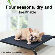 Mesh Fabric Cooling Elevated Dog Bed Pet Cot Mat Puppy Replacement Cover Cushion