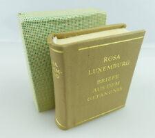 Minibuch: Rosa Luxemburg Briefe aus dem Gefängnis, Dietz Verlag Berlin e173