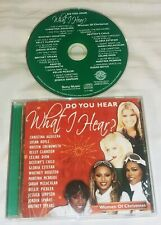 BRITNEY SPEARS - ETC. Do You Hear What I Hear: Women of Christmas CD 2010 Sony