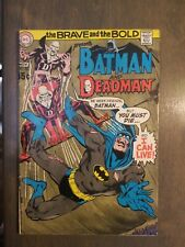 Brave and the Bold (1st Series DC) #86 VG-FINE