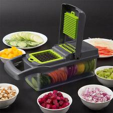 7 In 1 Kitchen Pressing Food Cutter Onion Vegetable Chopper Slicer Peeler Dicer