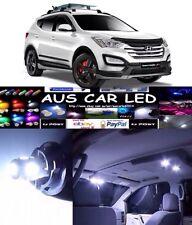 Hyundai Santa Fe 2011-2013 White Interior light LED upgrade kit for dome & map