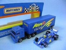 Matchbox Convoy Daf Truck Mitre 10 Race Team Set Australian Racing Boxed