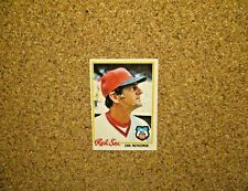 1978 O-Pee-Chee Baseball #137 Carl Yastrzemski (Boston Red Sox)