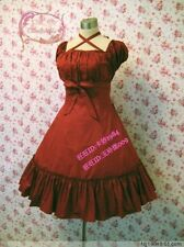 Cosplay Lolita Sweet Love Kawaii Light Red Wine Princess Dress