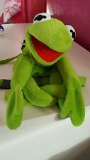 """17"""" Kermit the Frog from THE MUPPET SHOW Soft toy Backpack from Cravendale"""
