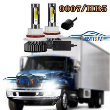 2pc LED Headlamp Headlights Hi-Lo Beam for International Durastar 4100 4200 4300