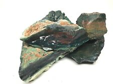 5 LB LOT OF BLOODSTONE JASPER ROUGH FROM INDIA - TOP QUALITY!