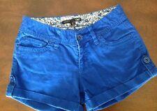 YMI Blue Hot Shorts Juniors Size 0