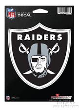 "Oakland Raiders 5"" Flat Vinyl Die Cut Decal Sticker Emblem Football"