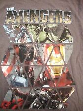 The Avengers Marvel Super Heroes Hulk Captain America Ironman Thor T Shirt S