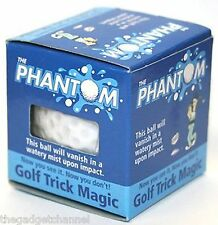 THE PHANTOM EXPLODING GOLF BALL FUNNY JOKE MENS BOYS GOLFERS NOVELTY PRESENT
