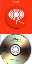 XZIBIT Hey Now Mean Muggin RARE TST PRESS PROMO CD dj