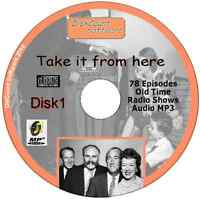 Take It From Here 78 Old Time Radio Episodes Audio MP3 CD OTR June Whitfield No1
