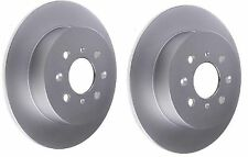 PAIR Brake Discs Solid Rear Fits MG MG ZR ZS 1.6 120 160 180 2001-2005 260m disc