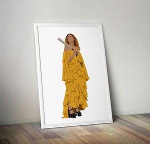 Beyonce, Lemonade, Print, Poster, wall art, gift, home decor