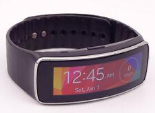 Samsung Galaxy Gear Fit Black Plastic Case Charcoal Black Modern Buckle SM-R350