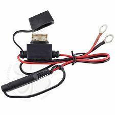 Car Truck Battery Terminal Ring Connector Harness 12 Volt Charger Adapter Cable