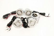 Motorcycle Turn Signals Kit For Harley Bullet Led 41Mm Clear Lens