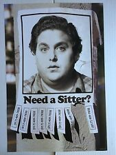 THE SITTER 13.5x20 PROMO MOVIE POSTER