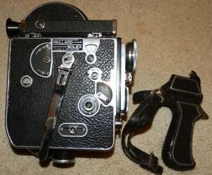 VINTAGE PAILLARD BOLEX H-16 16mm MOVIE CAMERA BODY SERIAL# 111567